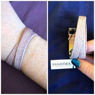 PANDORA GENUINE LEATHER BRACELET/WATCH STRAP