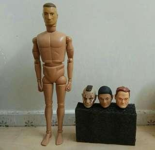 12吋 1:6 Figure 7/80年代高檔懷舊人偶 Cotswold 另備用頭雕3個