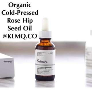 100% ORGANIC COLD-PRESSED ROSE HIP SEED OIL THE ORDINARY