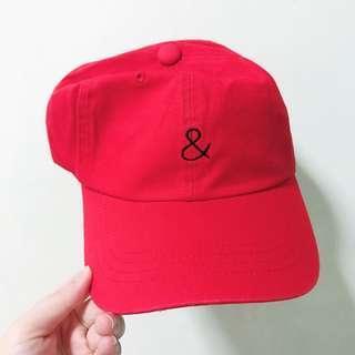 JAPAN RIVET & SURGE RED BASEBALL CAP