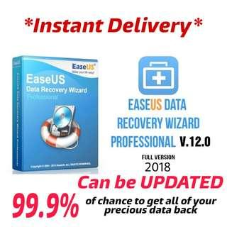 [ORIGINAL] EaseUS Data Recovery Wizard V12.0 [LATEST] WINDOWS #UNDER90