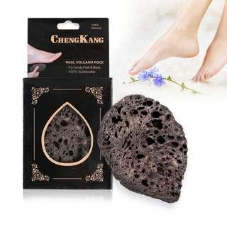 100% Natural & Sanitizable Real Volcanic Rock for Hands, Feet & Body