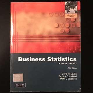 Business Statistics - 5th Ed.