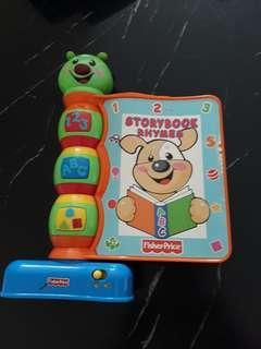 Baby toys - storybook rhymes