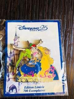 Disneyland Resort Paris pin 法國巴黎迪士尼樂園徽章襟章 DLP 25th anniversary Disney Stars on Parade series - Peter Pan 小飛俠 Disney Pin