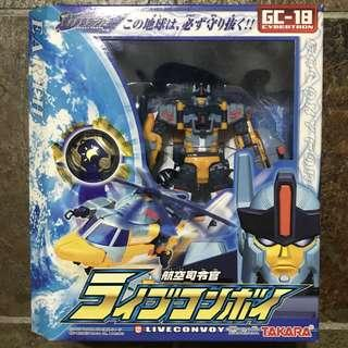 Transformers Liveconvoy GD 18 Galaxy Force