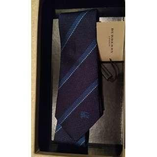 Burberry Textured 100% Silk Tie