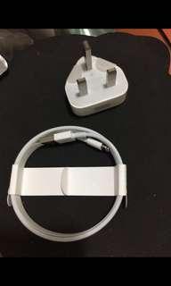 全新iPhone原廠火牛+USB線(1M)