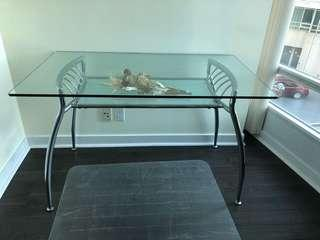 Dining/Office Glass Table
