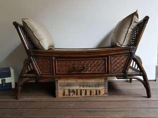 Export quality rattan bench