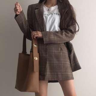 |PO| Twist strap elegant tote shoulder sling bag