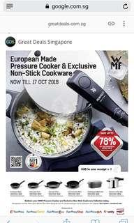 Ntuc Bonus Points - Redeem European Pressure Cooker & Exclusive Non-stick Cookware (save up to 78% while stocks last!)