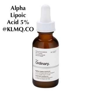 Alpha Lipoic Acid 5% THE ORDINARY