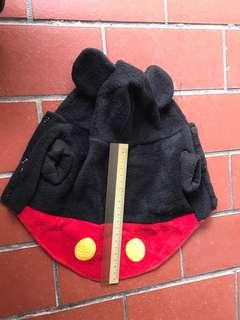Original Disney Mickey Mouse costume for small dog