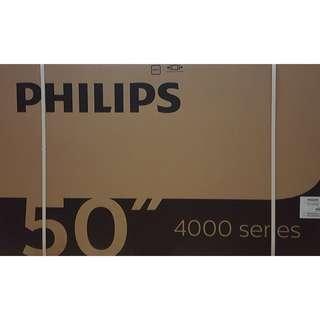 """BRAND NEW Philips 50"""" Full HD Digital Led Tv 50PFT4002/98 (DVB)"""