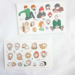 EXO Baekhyun Sticker Set