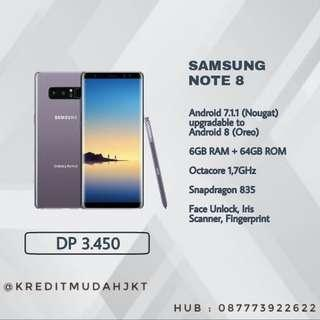 Kredit Samsung Note 8 Proses 3 Menit Tanpa Kartu Kredit