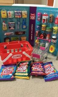 Coles little shop complete set