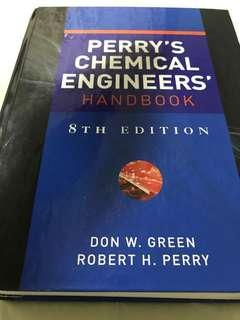 Perry's Chemical Engineer's Handbook 8th Edition