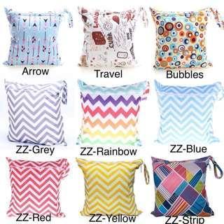 Waterproof Wet Bag/Dry Bag/Diaper Bag/Single Zip Bag/3 for $10