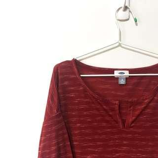 PLUS-SIZE OLD NAVY Long Sleeve Top