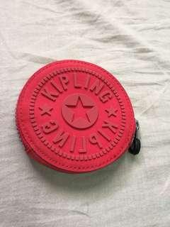 🚚 全新免運!Kipling 零錢包 復古紅 錢包