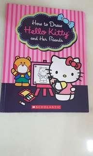 How to draw hello kitty and her friends book