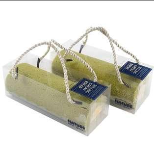 Transparent swiss roll cake box