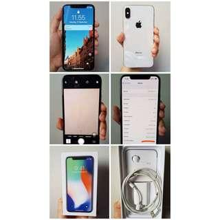 Iphone X White, 64 GB.