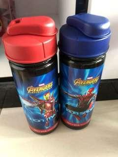 BN Marvel Avengers Water Bottle x 2
