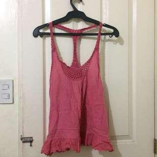 bossini pink knitted top