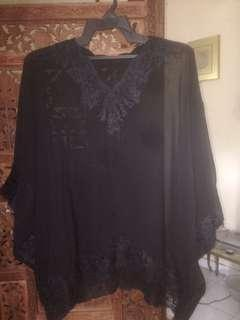 Black Indonesian Lace Top #under90 #3x100