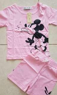 L nice mickey pink