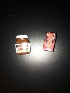 COLES LITTLE SHOP MINI - NUTELLA AND OAK MILK
