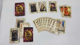 Lord of the Rings collectible playing cards