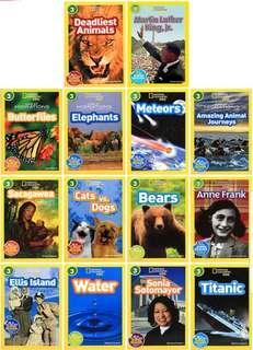 National Geographic level 3 (22 books)