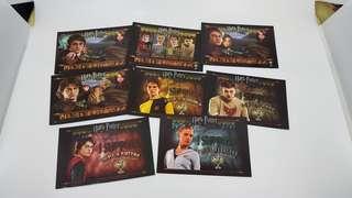 Harry Potter postcards
