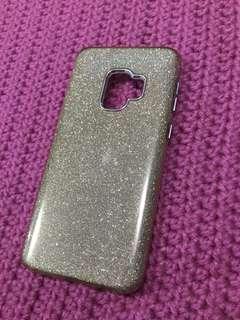 Samsung s9 case gold glittery