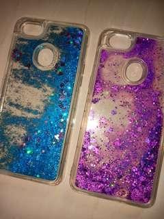 Oppo F7 Glitter Case