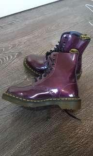 Doc Martin purple genuine