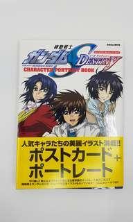 Gundam Seed Destiny postcard book