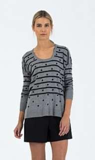 Country Road Spot Stripe Knit