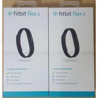 BUNDLE DEAL - Brand New Fitbit Flex 2 FB403BK