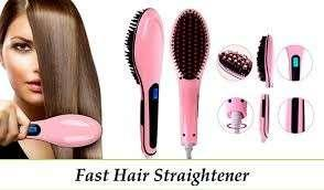 Sisir catok fast straightener hair