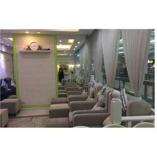 Business for Sale - Popular Franchised Nail Salon and Spa in a Popular Mall in Mandaluyong City