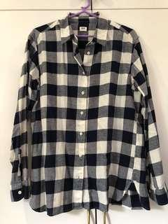 Uniqlo Checkered Longsleeves