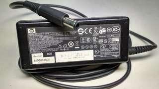 Charger Cas Adaptor Laptop Hp type Jarum Bulat 18.5V 3.5A