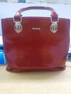 preloved tas pierre cardin with defect