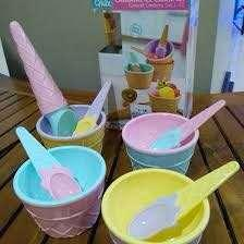 Carnaval Ice Cream Set