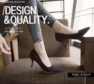 Black Heels (6cm)